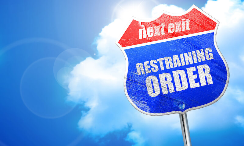 Bigstock restraining order d renderin 140962676