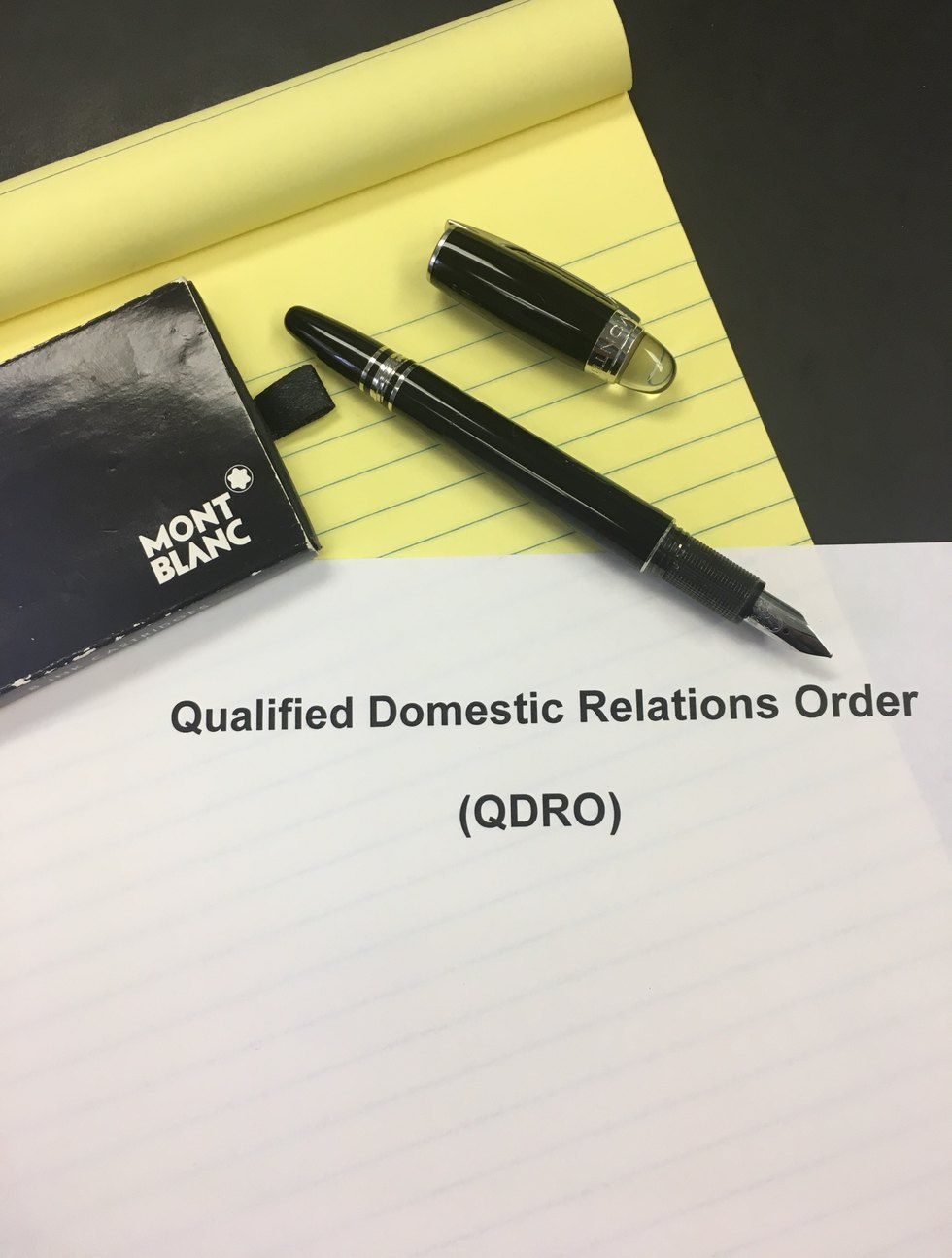 Qualified domestic relations order qdro