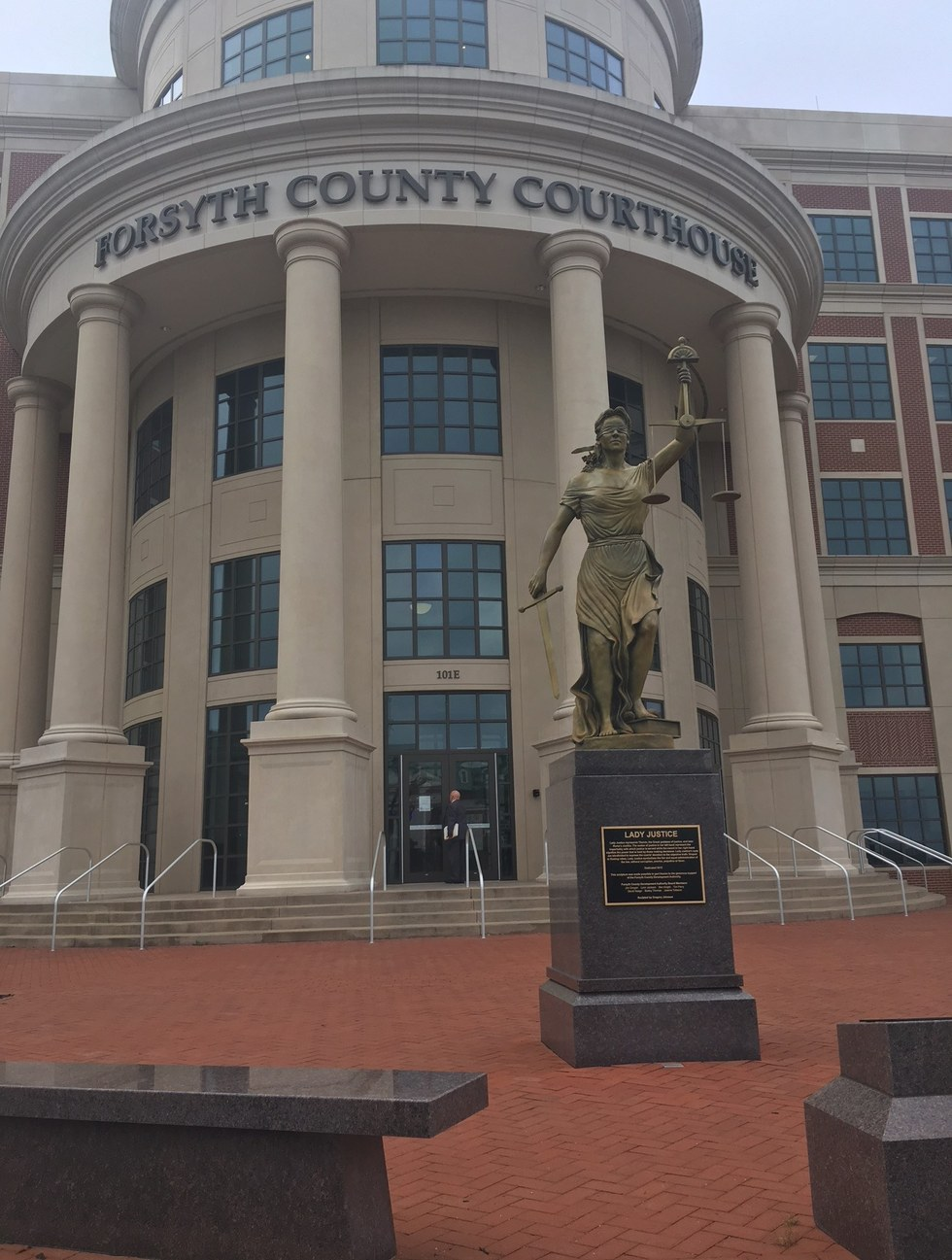 The forsyth county courthouse