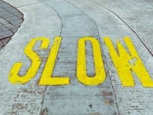 Slow sign canstockphoto5631405 300x225