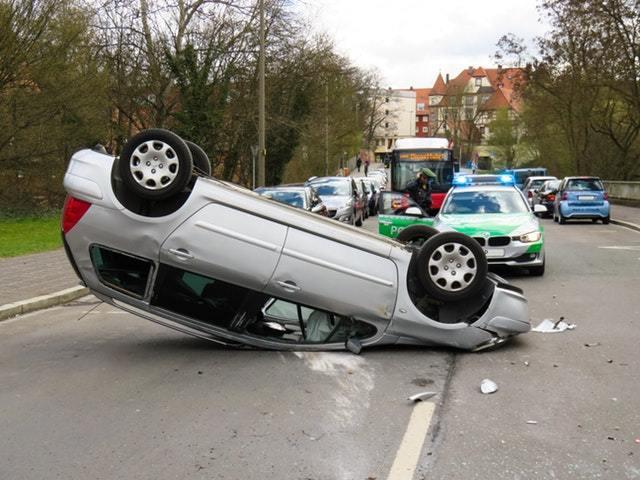 Accident auto auto accident blue light 271352
