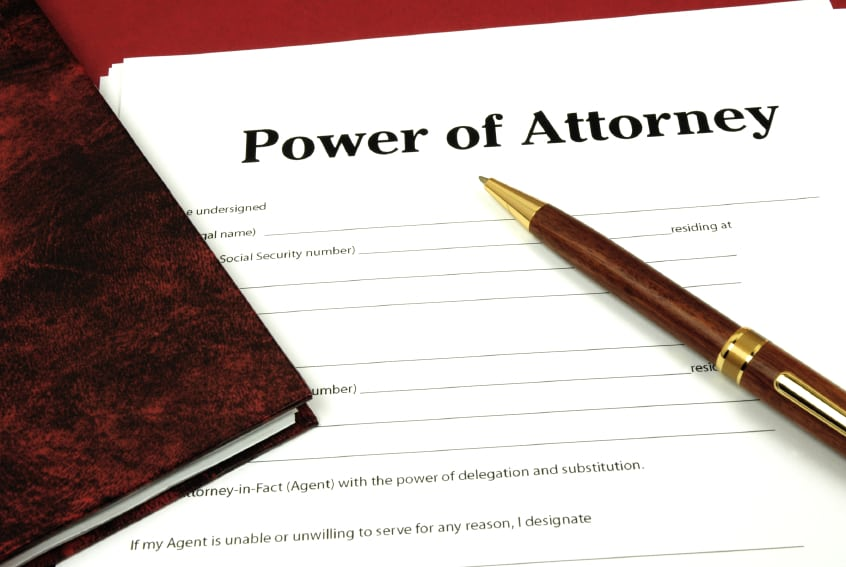 cobb county power of attorney