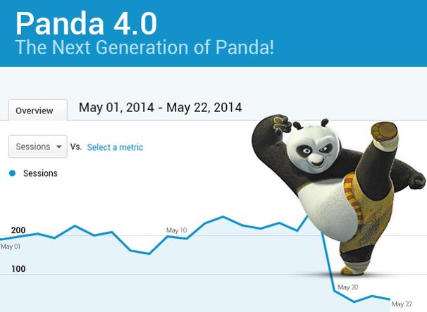 panda 4.0 rollout Google algorithym