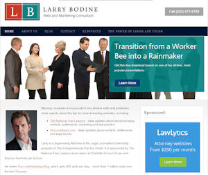 Larry Bodine blog