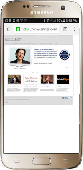 A mobile-UNfriendly website can mean lost business for your firm.