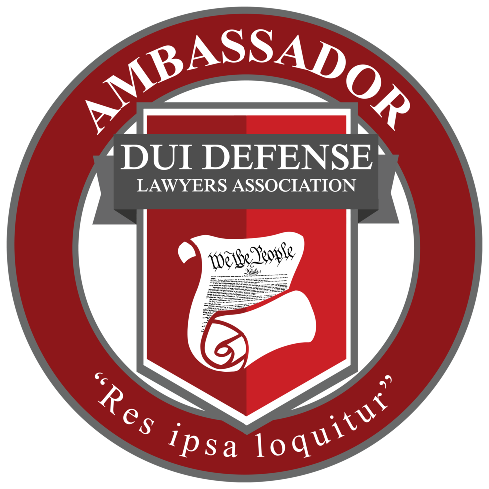 California State Ambassador for the DUI Defense Lawyers Association