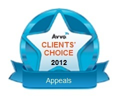 Avvo 20client's 20choice 20appeals