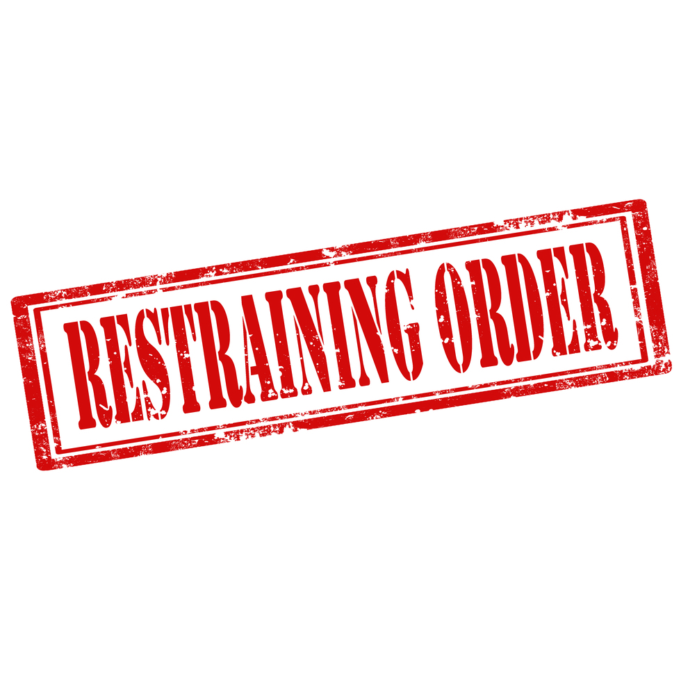 Restraining 20order