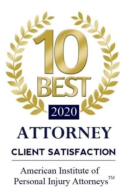 10 Best Personal Injury Attorneys in California Award