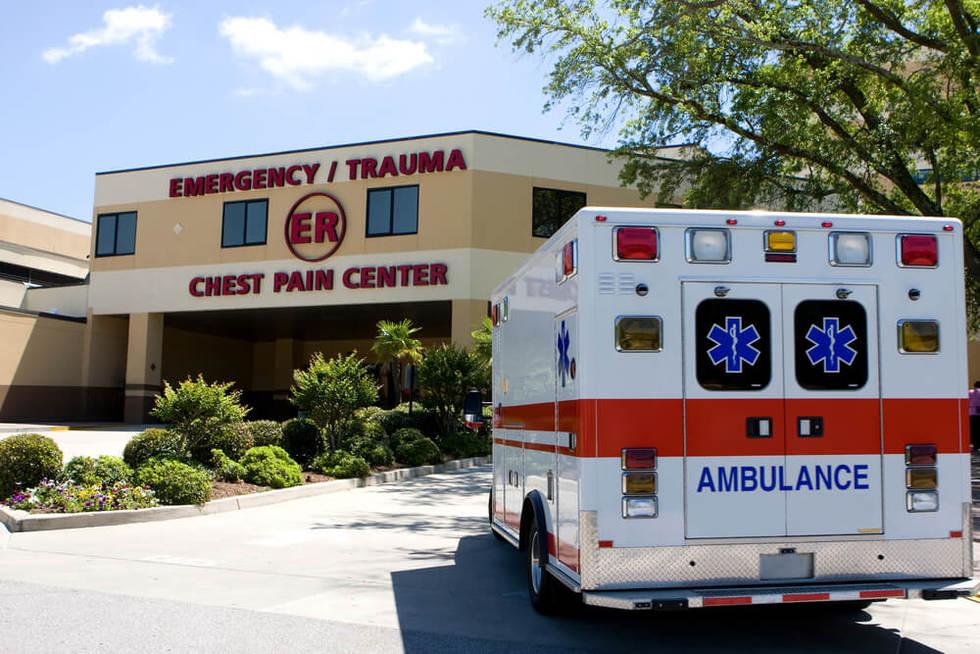 Ambulance emergency room urgent care
