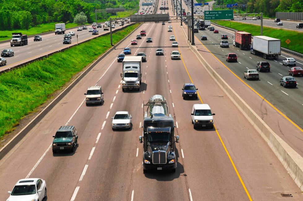 Highway design flaw