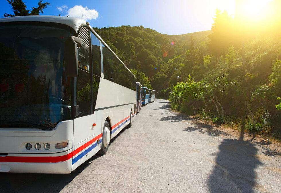 Tour bus injury