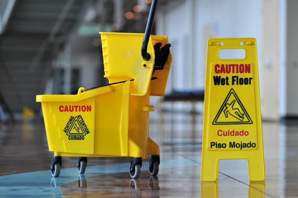 Slip and fall accident settlement
