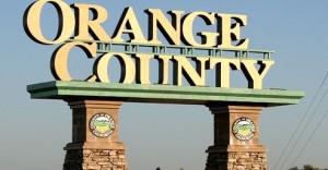 Orange County California Sign