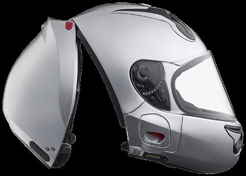 rear-entry helmet