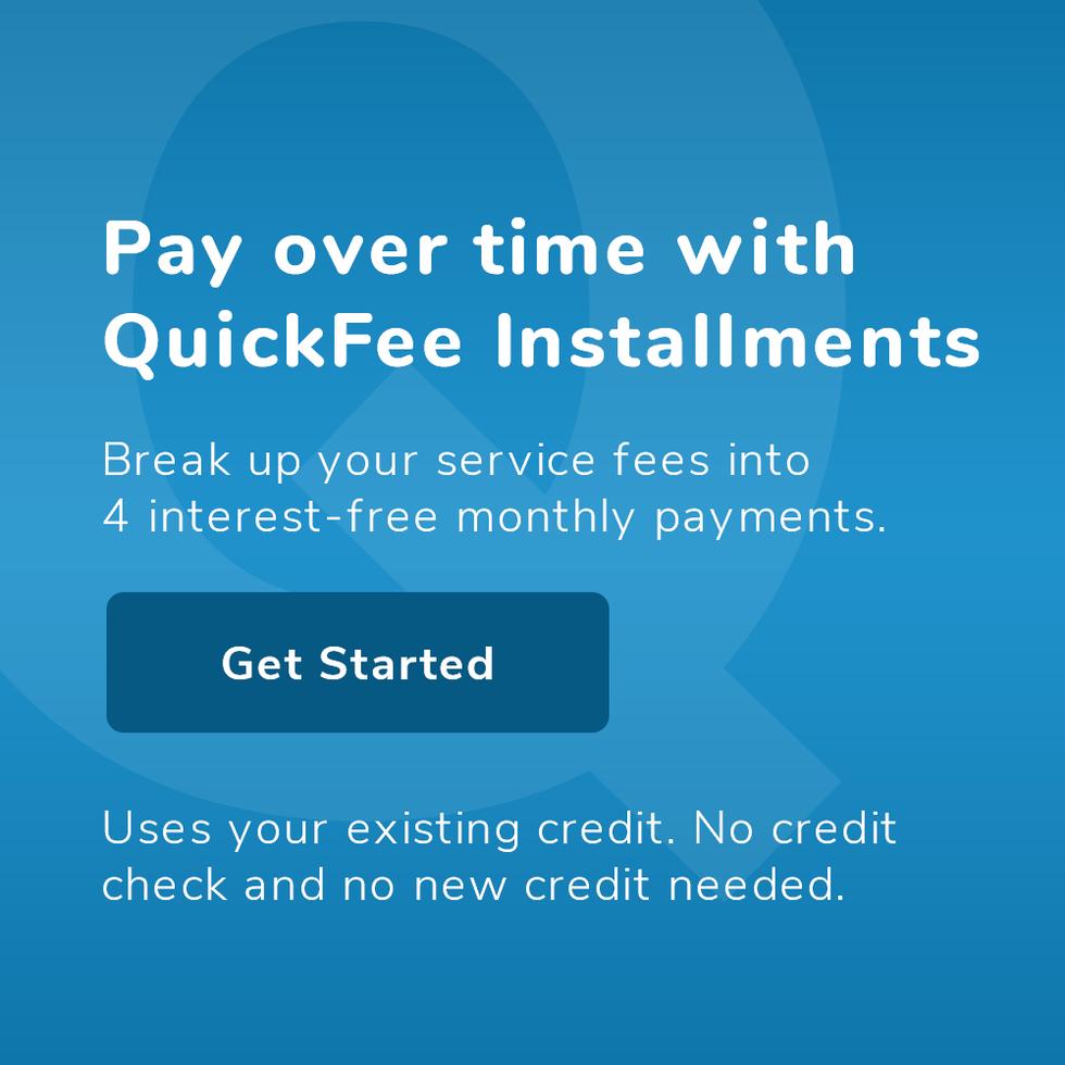 QuickFee Installments