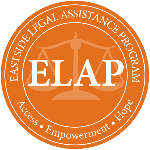 Eastside Legal Assistance Program Logo (credit: ELAP)
