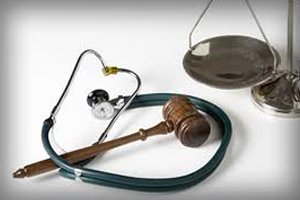 scales gavel stethoscope Atlanta Social Security Disability Attorney