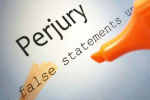 California Penal Code 118 PC – Perjury