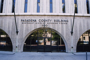 Pasadena Court Criminal Defense Attorney
