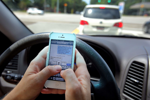 Distracted Driving in Los Angeles Car Accident Case