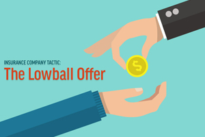 Lowball insurance offer after a car accident