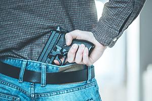 Felon in Possession of a Firearm Law in California - Penal Code 29800 PC