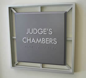 Meeting Georgia Judges in Chambers