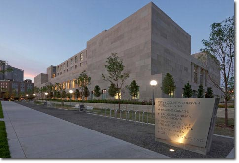Denver County Jail and Detention Center in Colorado.