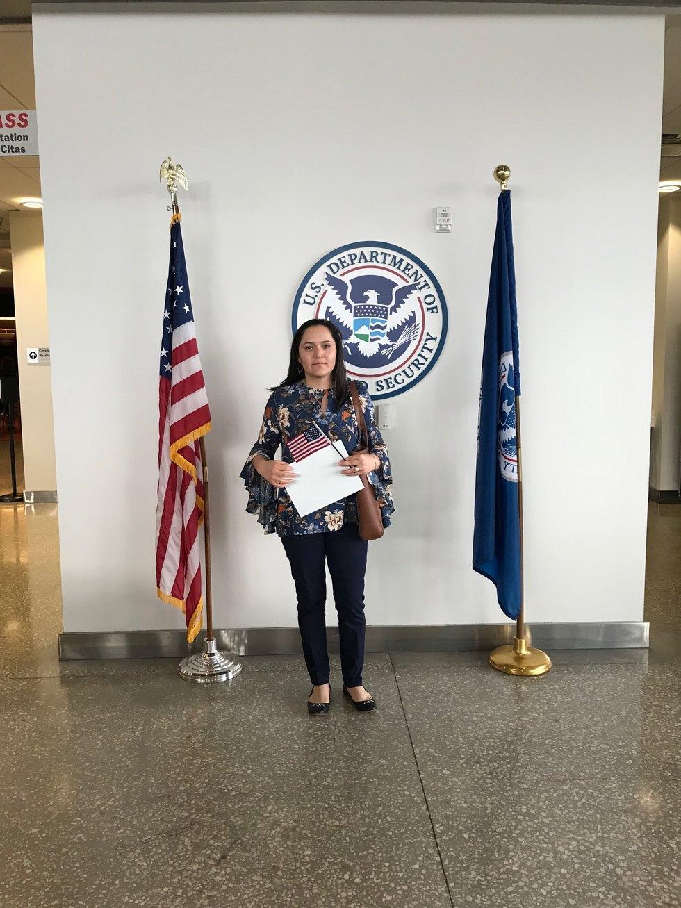 U.S. Citizen naturalization