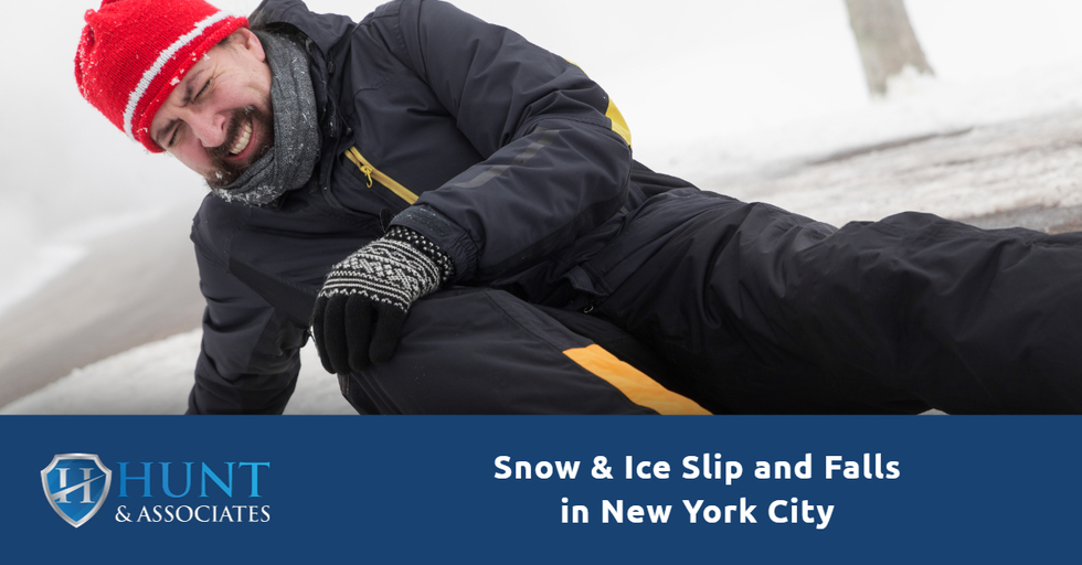 Snow & Ice Slip and Falls in New York City