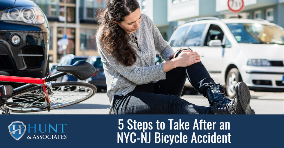 5 Steps to Take After an New York City - New Jersey Bicycle Accident