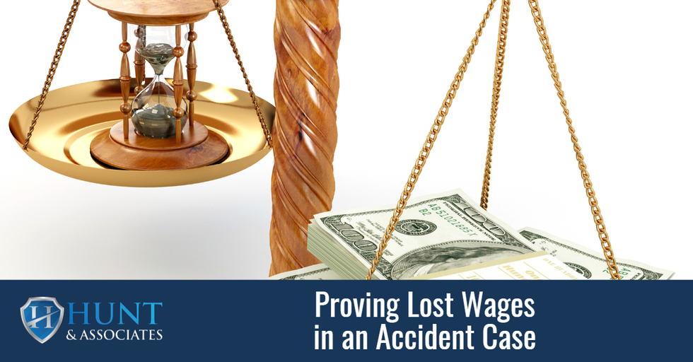 Proving Lost Wages in an Accident Case