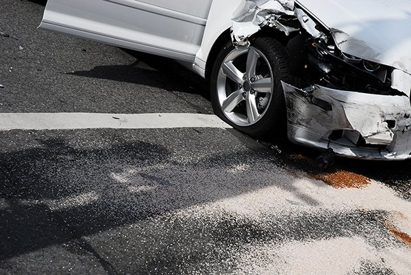 Crashed car smallest