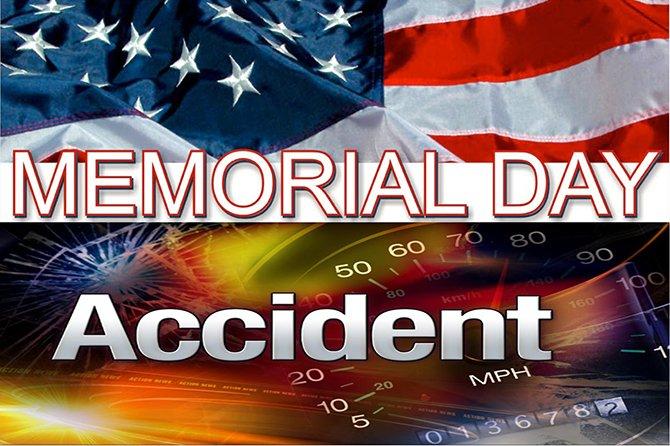 car crash memorial Day