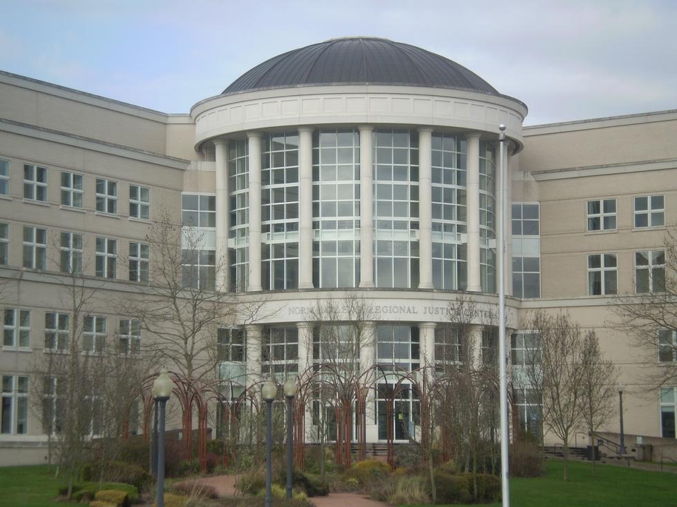 Regional justice center