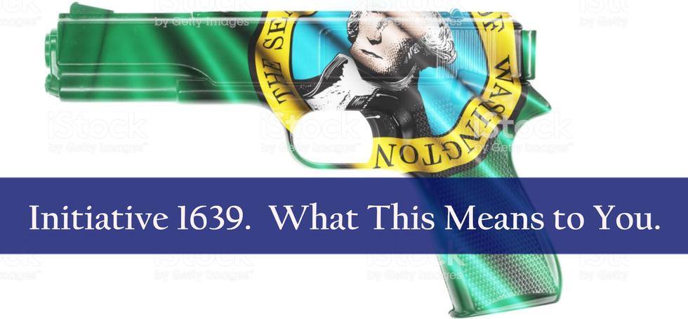 Initiative 1639 | Washington Gun Law