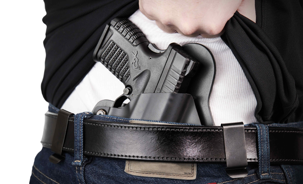 Biometric impressions il concealed carry license ccw