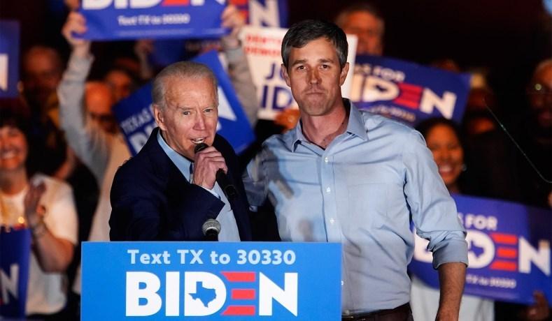 Joe biden beto orourke texas
