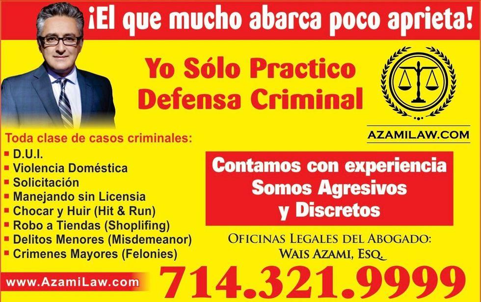 Abogado de Defensa Criminal