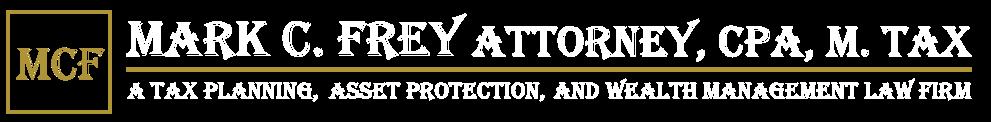 Mark C. Frey Attorney, C.P.A., M. Tax