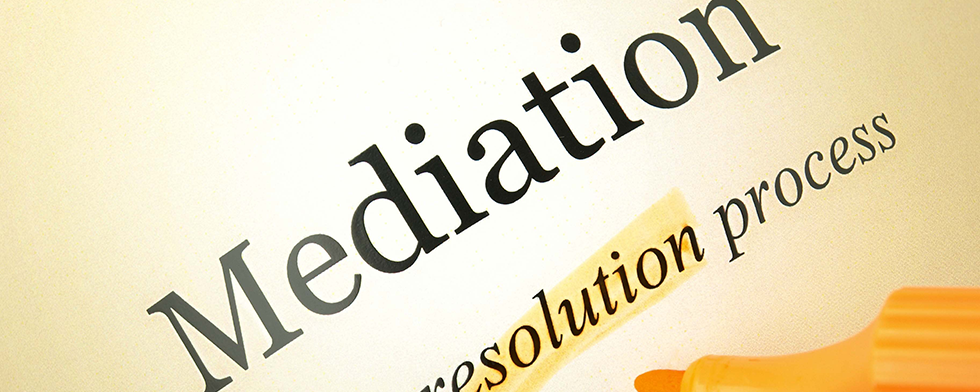 Mediation slider