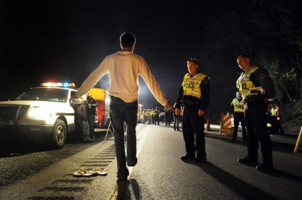 What are the Standardized Field Sobriety Tests?