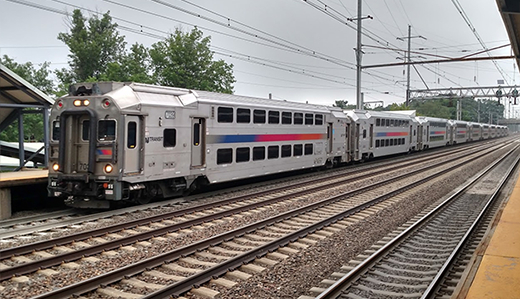 NJ Transit train