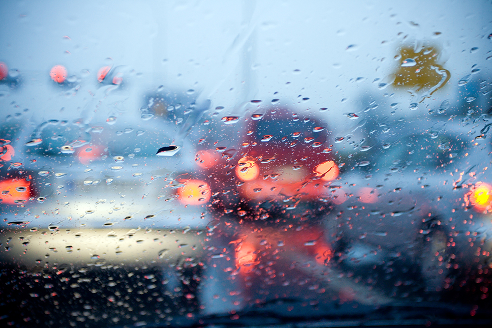 rain related car accidents