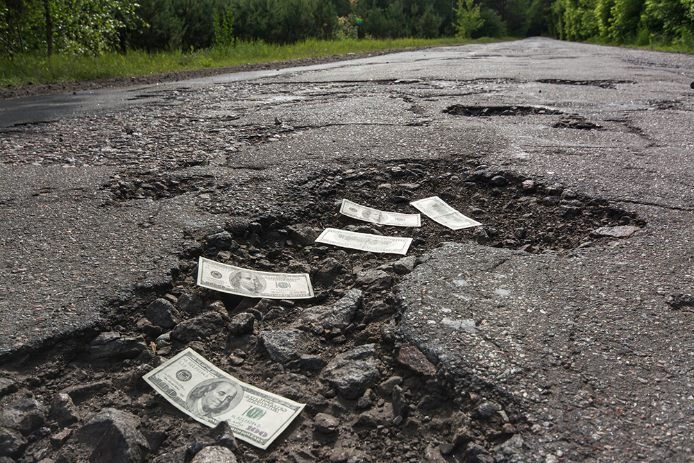 Potholes and their impact on car accident rates