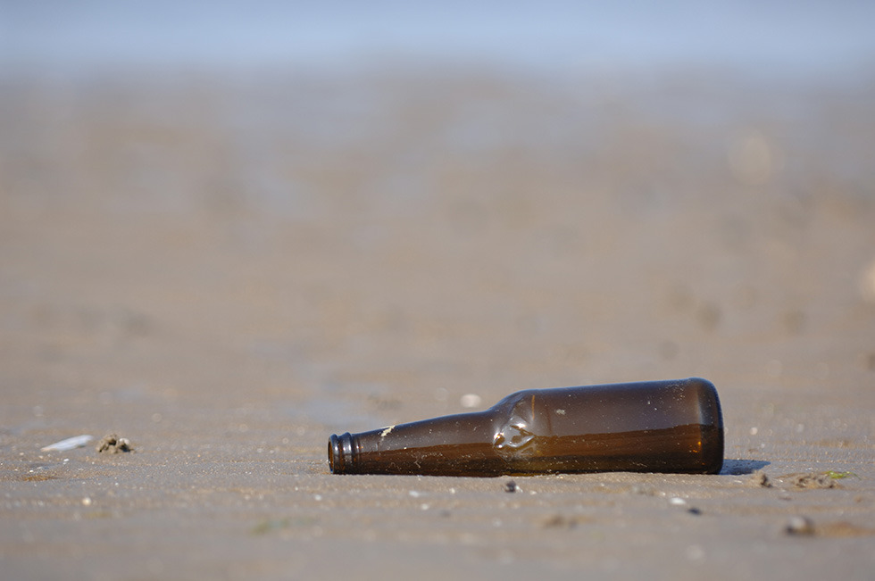 Beach bottle