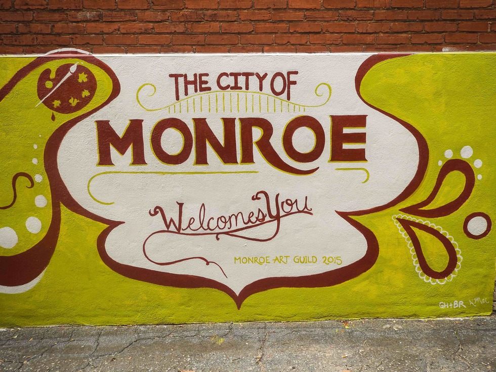 Monroe 20ga 20welcome 20art