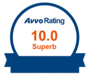 Avvo Rating 10.0 Award