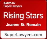 Rising Star Jeanne St. Romain